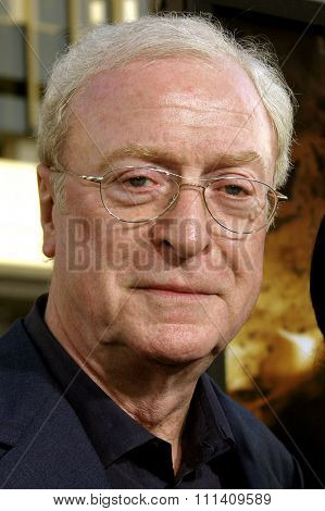 Sir Michael Caine attends the Los Angeles Premiere of