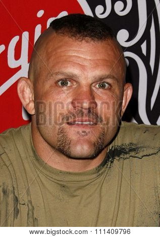 UFC Light Heavyweight Champion Chuck 'The Iceman' Liddell attends the signing of UFC presents Ultimate Iceman on DVD held at the Virgin Megastore in Hollywood, California on April 25, 2007.