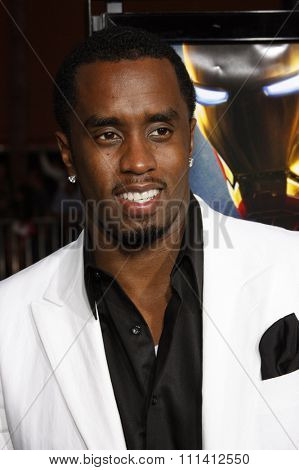 Sean 'Diddy' Combs attends the Los Angeles Premiere of