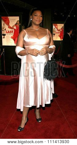 Queen Latifah attends the Los Angeles Premiere of