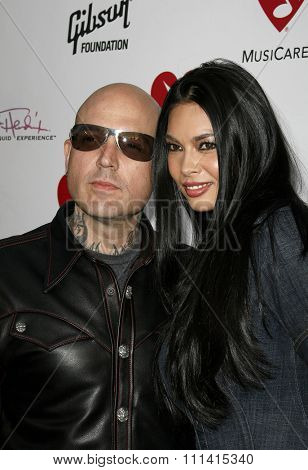 Evan Seinfeld and Tera Patrick attend the 3rd Annual MusiCares Map Fund Benefit Concert held at the Henry Fonda Music Box Theater in Hollywood, CA on 05/11/07.