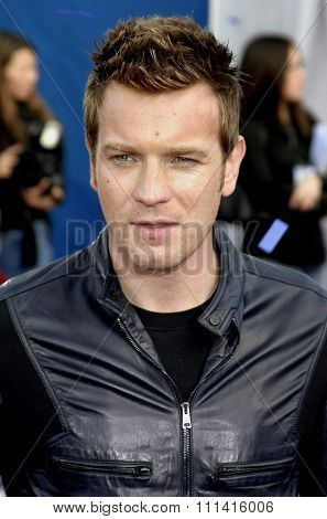 Ewan McGregor attends the Los Angeles Premiere of