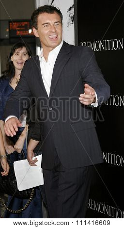 Julian McMahon attends the Los Angeles Premiere of