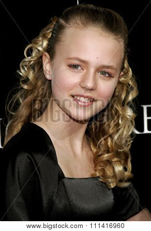 Courtney Taylor Burness attends the Los Angeles Premiere of
