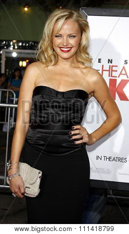 Malin Akerman attends the Los Angeles Premiere of