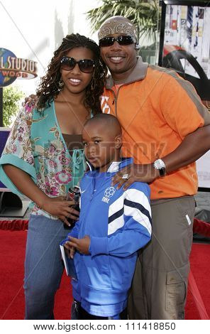 MC Hammer attends the Los Angeles Premiere of