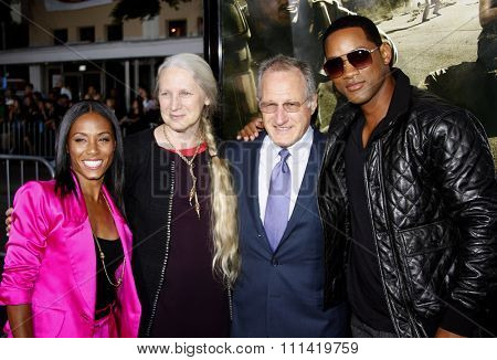 Will Smith, Michael Mann and Jada Pinkett Smith attend the Los Angeles Premiere of