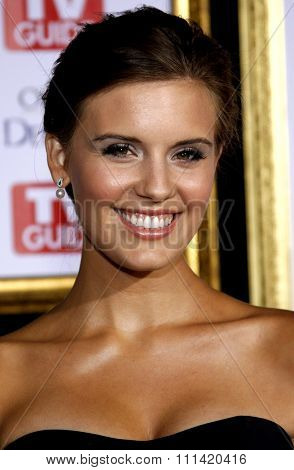 Maggie Grace attends the 5th Annual TV Guide's Emmy Awards Afterparty held at the Les Deux in Hollywood, California, United States on September 16, 2007.