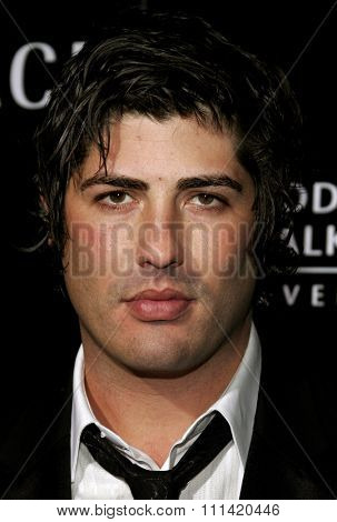 Brandon Davis attends the Rodeo Drive Walk Of Style Award honoring Gianni and Donatella Versace held at the Beverly Hills City Hall in Beverly Hills, California on February 8, 2007.