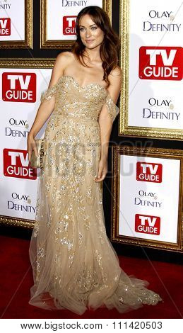 Olivia Wilde attends the 5th Annual TV Guide's Emmy Awards Afterparty held at the Les Deux in Hollywood, California, United States on September 16, 2007.