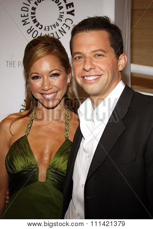 Jon Cryer and wife Lisa Joyner attend the