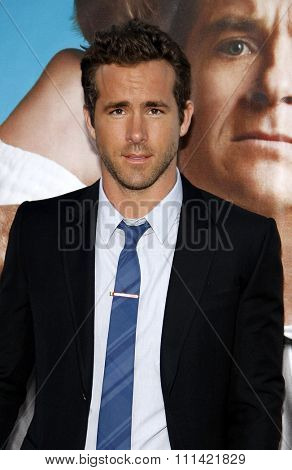WESTWOOD, USA - AUGUST 4: Ryan Reynolds at the Los Angeles Premiere of