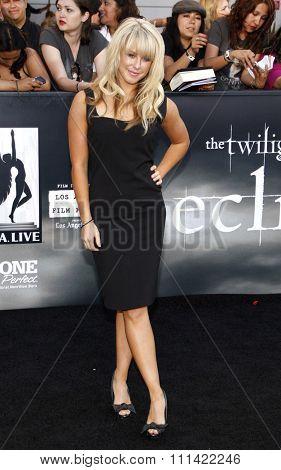 LOS ANGELES, USA - JUNE 24: Chelsie Hightower at the Los Angeles Premiere of