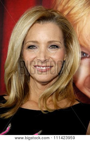 Lisa Kudrow at the Los Angeles premiere of HBO's 'The Comeback' held at the El Capitan Theatre in Los Angeles on November 5, 2014 in Los Angeles, California.
