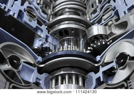 Gearbox automotive transmission