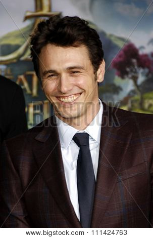 James Franco at the Los Angeles Premiere of