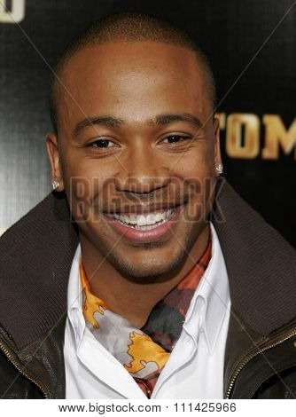 January 8, 2007. Columbus Short attends the Los Angeles of