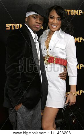 January 8, 2007. Ne-Yo attends the Los Angeles of