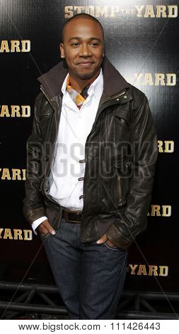 Columbus Short attends the World Premiere of