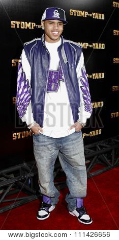 Chris Brown attends the World Premiere of