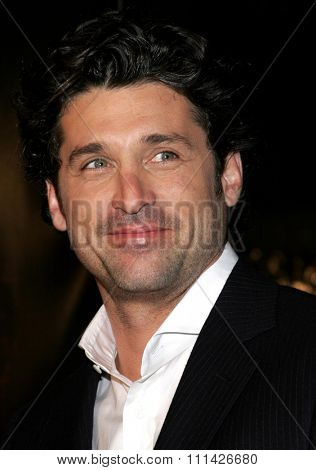 January 4, 2007. Patrick Dempsey attends the Los Angeles of