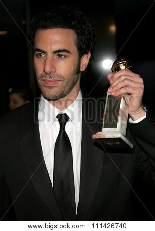 Sacha Baron Cohen at the Paramount Pictures Hosts 2007 Golden Globe Award After-Party held at the Beverly Hilton Hotel in Beverly Hills on January 15, 2007.