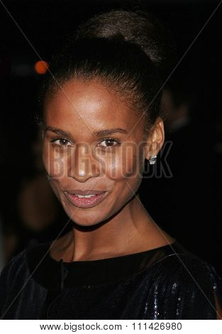 Joy Bryant at the Paramount Pictures Hosts 2007 Golden Globe Award After-Party held at the Beverly Hilton Hotel in Beverly Hills on January 15, 2007.