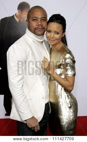 December 7, 2006. Cuba Gooding Jr. and Thandie Newton attend the Los Angeles Premiere of