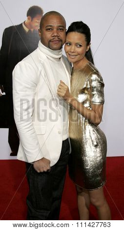 December 7, 2006. Thandie Newton and Cuba Gooding Jr. attends the Los Angeles Premiere of