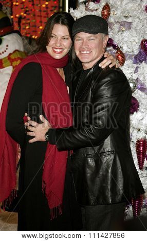 November 12, 2006. Neal McDonough and Ruve McDonough attend the World Premiere of