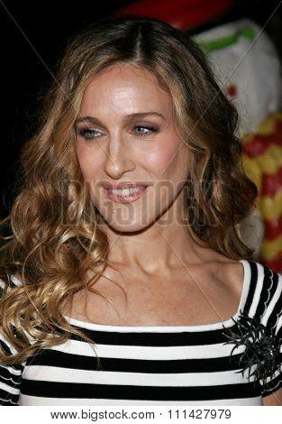 November 12, 2006. Sarah Jessica Parker attends the World Premiere of