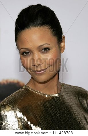 December 7, 2006. Thandie Newton attends the Los Angeles Premiere of