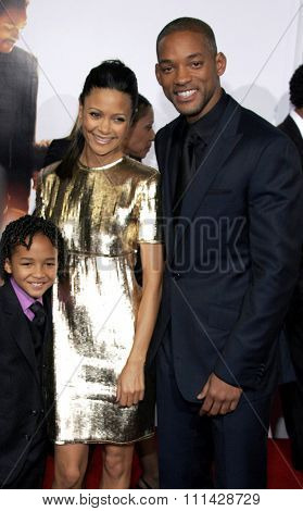 December 7, 2006. Will Smith and Thandie Newton attend the Los Angeles Premiere of