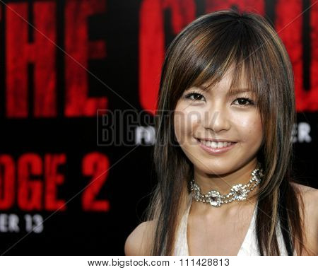 October 8, 2006. Misako Uno attends the World Premiere of