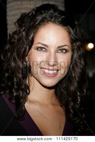 October 14, 2006. Barbara Mori attends the LALIFF Gabi Award Gala Honoring Antonio Banderas held at the Egyptian Theatre in Hollywood, California United States.