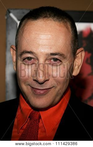 Paul Reubens attends the Los Angeles Premiere of
