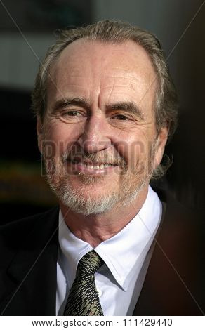 August 4, 2005. Wes Craven at the