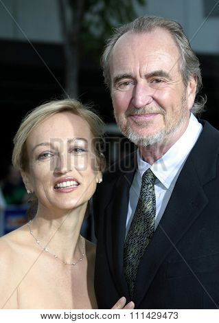 August 4, 2005. Iya Labunka and Wes Craven at the