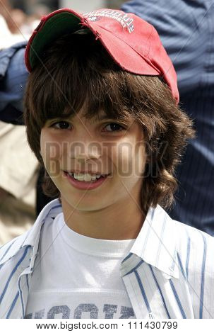 July 23, 2006. Zach Tyler Eisen attends the Los Angeles Premiere of