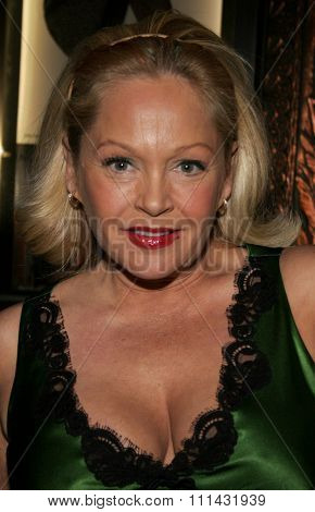 November 28, 2005. Charlene Tilton attends the Red carpet celebrity opening of stage musical version of Irving Berlin White Christmas at the Pantages Theatre in Hollywood, California United States.