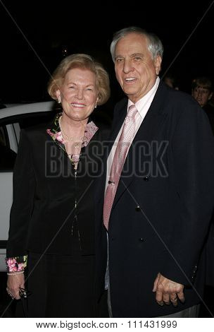 November 21, 2005. Garry Marshall with wife Barbara attend the Los Angeles Free Clinic's 29th Annual Dinner Gala at the Regent Beverly Wilshire in Beverly Hills, California United States.