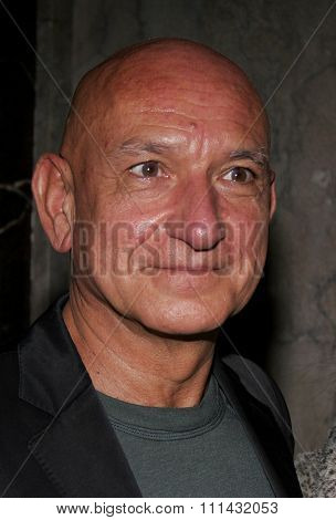 11/28/2005 - Hollywood - Sir Ben Kingsley at the White Christmas stage musical opening at the Pantages Theatre in Hollywood, California, USA.