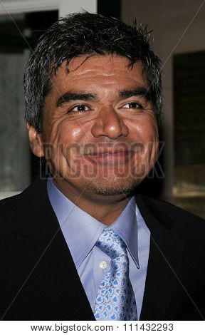 December 1, 2005. George Lopez attends the Wolrd Premiere of Aeon Flux at the Cinerama Dome in Hollywood, California United States.