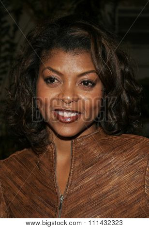 12/1/2005 - Hollywood - Taraji P. Henson at the Aeon Flux World Premiere at the Cinerama Dome in Hollywood, CA, United States.