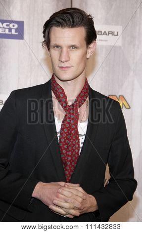Matt Smith at the Spike TV's 'SCREAM 2011' awards held at Universal Studios in Universal City, California on October 15, 2011.