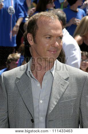 HOLLYWOOD, CALIFORNIA - June 19 2005. Michael Keaton attends at the
