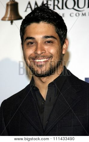 HOLLYWOOD, CALIFORNIA - June 11, 2005. Wilmer Valderrama attends at the 19th Annual Fulfillment Fund