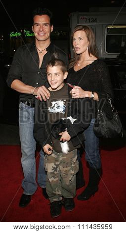 HOLLYWOOD, CALIFORNIA. February 2, 2006. Antonio Sabato jr. attends the Warner Bros World Premiere of