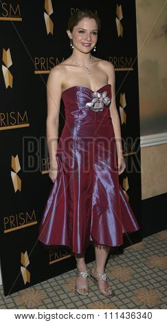 BEVERLY HILLS. CALIFORNIA. April 28, 2005. Shannon Lucio attends The 9th Annual PRISM Awards The Beverly Hills Hotel in Beverly Hills, California, United States.