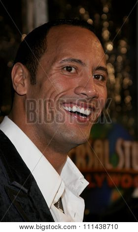 October 17, 2005. Dwayne Johnson at the Los Angeles Premiere of